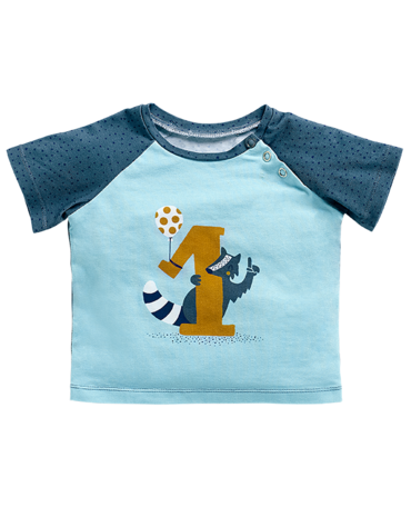 Schnittmuster inkl. Step-by-Step Baby-Shirt Baby 2018 #7A - Produktbild