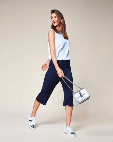 Schnittmuster inkl. Step-by-Step Culotte F/S 2018 #2C - Modefoto