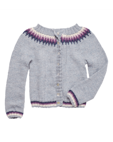Kinder-Strickjacke Stricken 2017 #12 - Produktbild