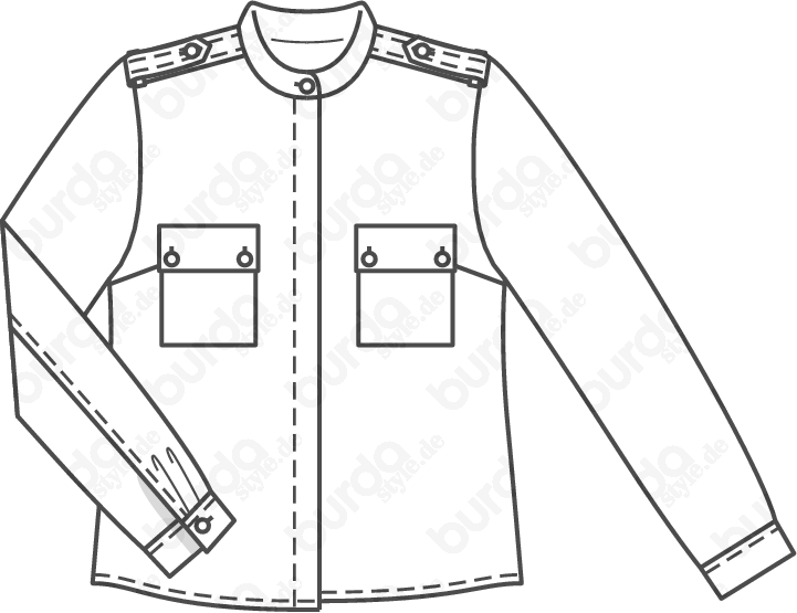 Schnittmuster Bluse 03/2012 #113A