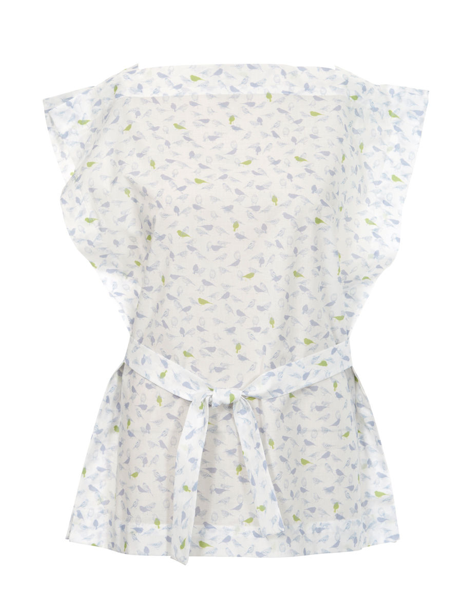 Schnittmuster Bluse - Bindeband in der Taille 07/2012 #115