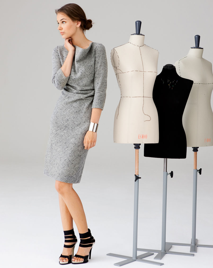 Schnittmuster inkl. Step-by-Step Shirtkleid 10/2012 #118A