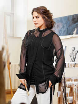 Schnittmuster Chiffonbluse 03/2013 #142