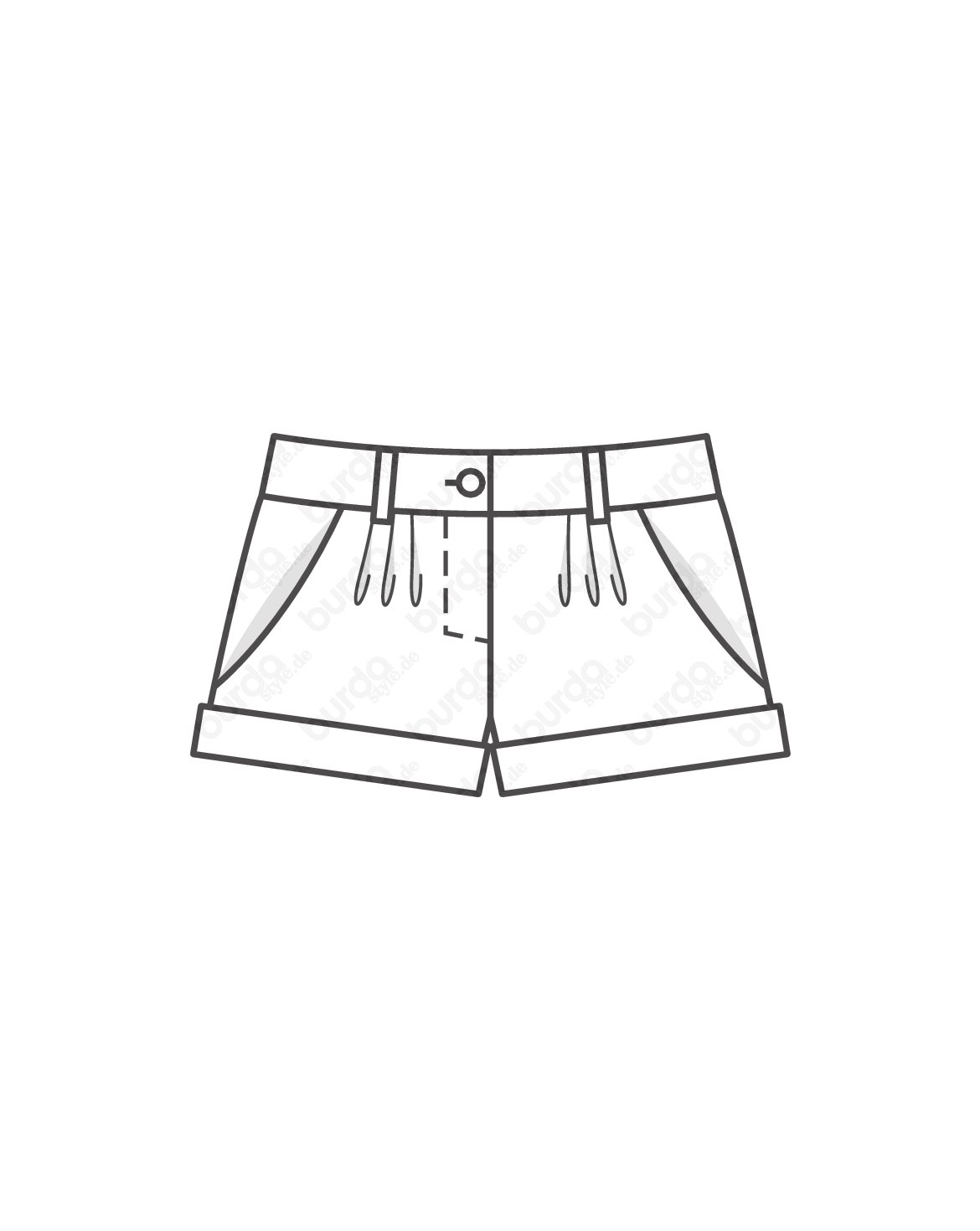 Schnittmuster Shorts 07/2013 #105A