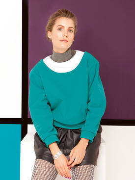 Layering-Look-Pullover 08/2013 #128
