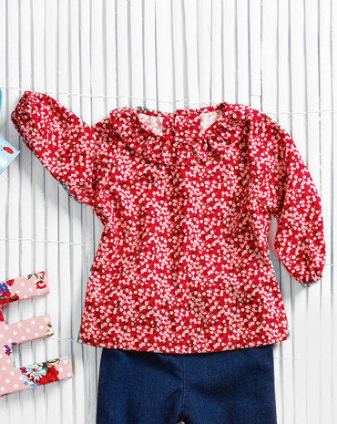 Schnittmuster Baby-Bluse 09/2013 #146 - Modefoto