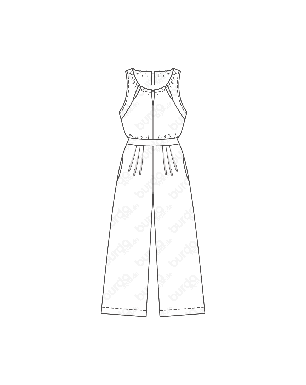 Schnittmuster Overall 04/2016 #112A