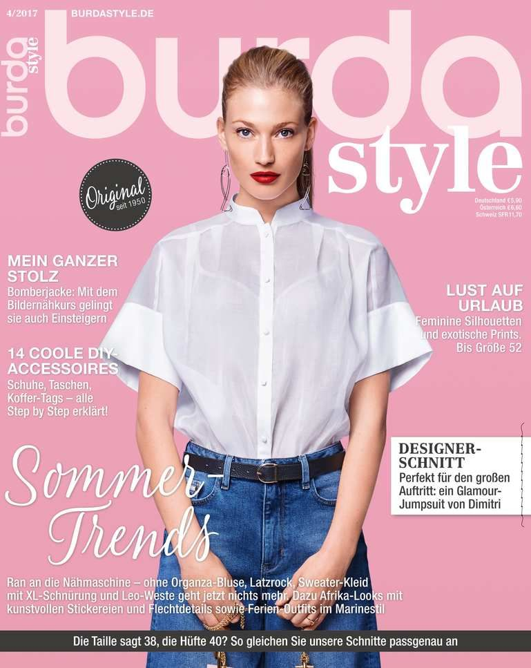 burda style April Ausgabe