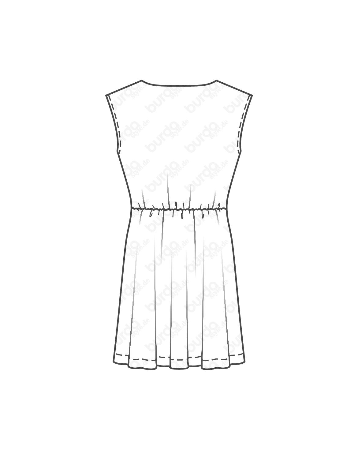 Schnittmuster inkl. Step-by-Step T-Shirt-Kleid 05/2017 #114