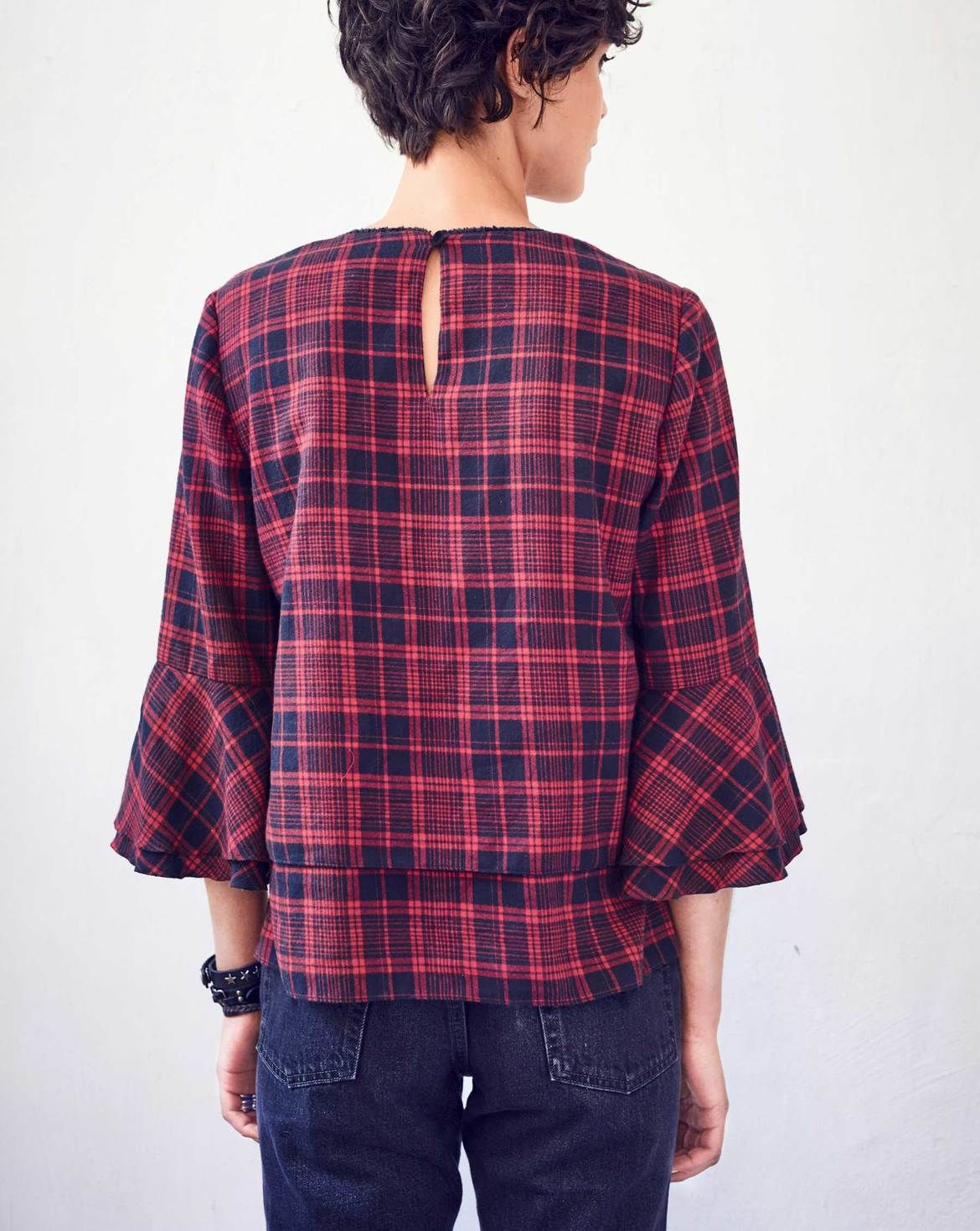 Schnittmuster Bluse 10/2017 #111B