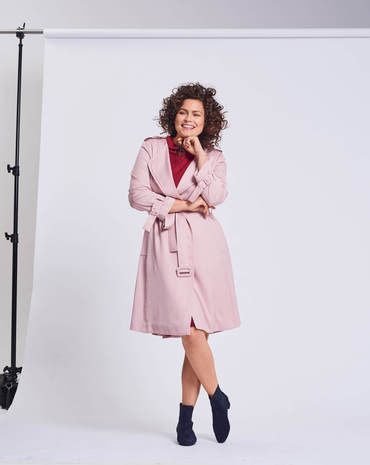 Schnittmuster Must-Have Trenchcoat 02/2018 #125 - Modefoto