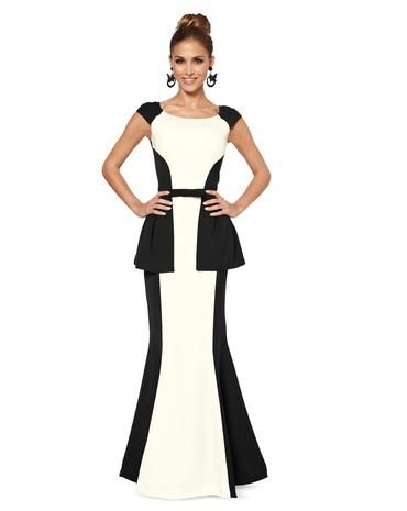 Schnittmuster Couture-Kleid H/W 2014 #6869B - Modefoto