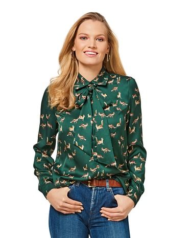 Schnittmuster Bluse H/W 2017 #6460A - Modefoto