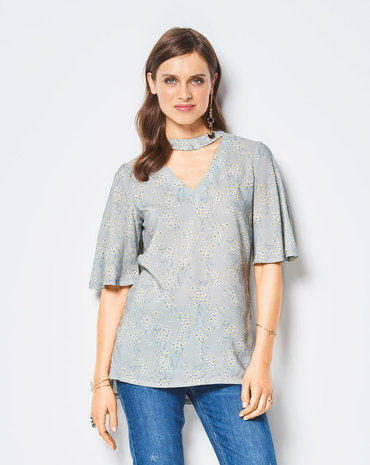 Schnittmuster Bluse F/S 2018 #6424B - Modefoto