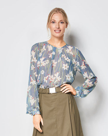 Schnittmuster Bluse F/S 2018 #6434B - Modefoto