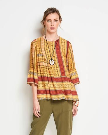 Schnittmuster Bluse H/W 2018 #6354A - Modefoto