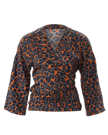 Schnittmuster Wickelbluse H/W 2018 #6373A - Produktbild