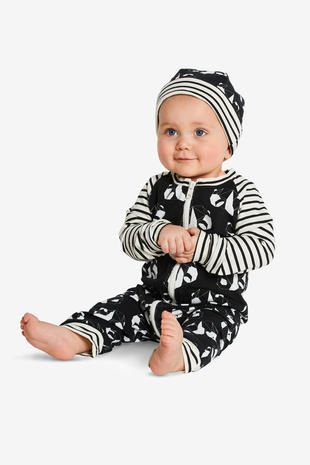 Schnittmuster Baby-Overall H/W 2018 #9328A - Modefoto