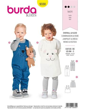 Schnittmuster Overall, Kleid H/W 2018 #9330 - Modefoto