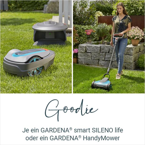 Goddie: Gardena® smart SILENO life & Gardena® HandyMower