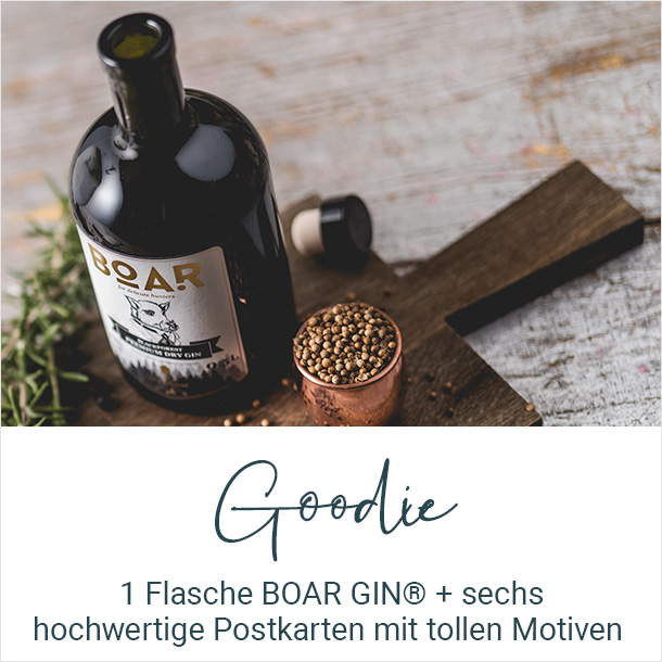 Goodie BOAR Gin