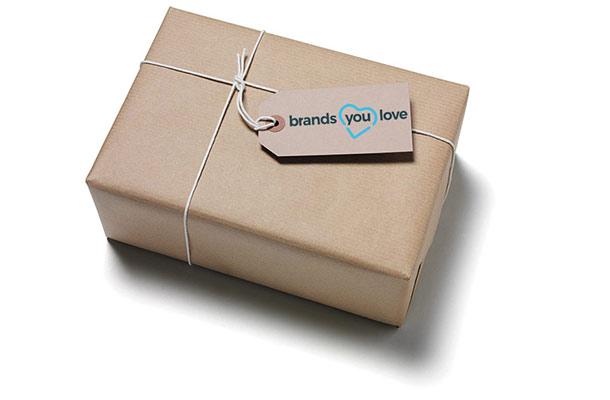 brands you love Paket: Produkte kostenlos