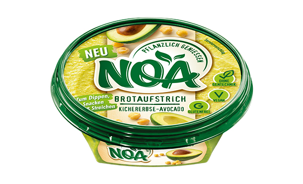 NOA AufstrichKichererbsen-Avocado
