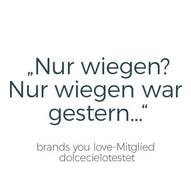 Zitat einer brands you love-Testerin
