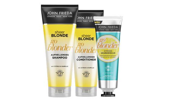 John Frieda Go Blonder-Linie