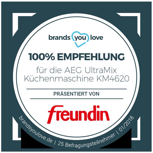 brands you love Siegel für AEG UltraMix KM4620
