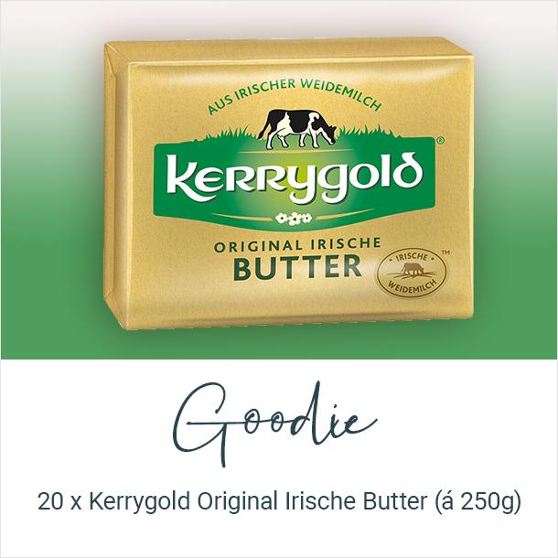 Goodie: 20 x Kerrygold Original Irische Butter