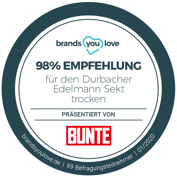 brands you love-Siegel für Durbacher