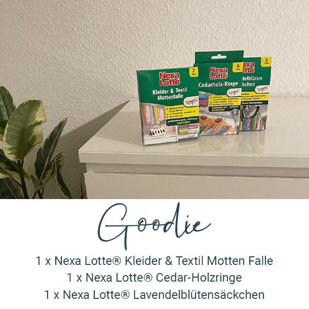 Goodie: Mottenschutz von Nexa Lotte