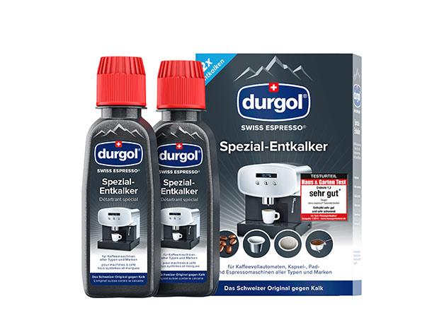 durgol swiss espresso Spezial-Entkalker kostenlos testen