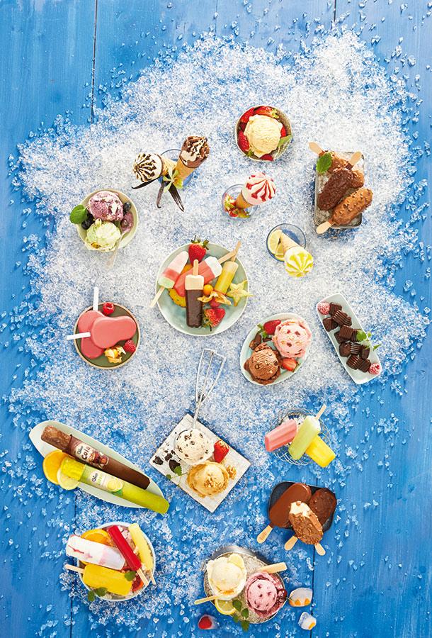 Lidl-Eiskarte Deutschland