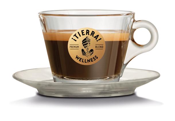 Eine Tasse Kaffee-Auszeit mit Lavazza ¡Tierra! Wellness