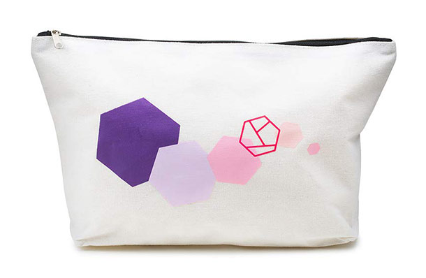 prettique Beauty Bag geometrischer Print