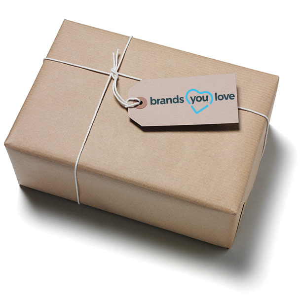 Das brands you love-Produktpaket