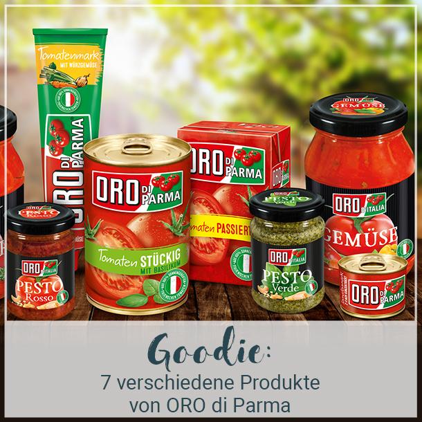 Goodie der brands you love Botschafter: 7 ORO di Parma Produkte