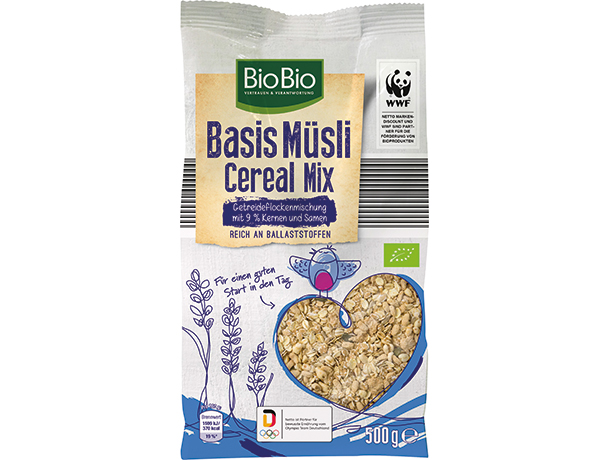 BioBio Basis Müsli Cereal Mix