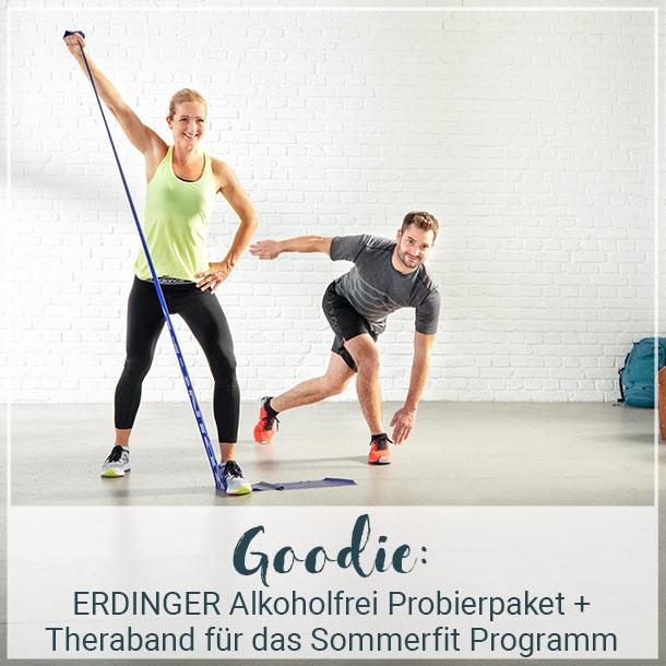 ERDINGER Alkoholfrei Probierpaket und Theraband