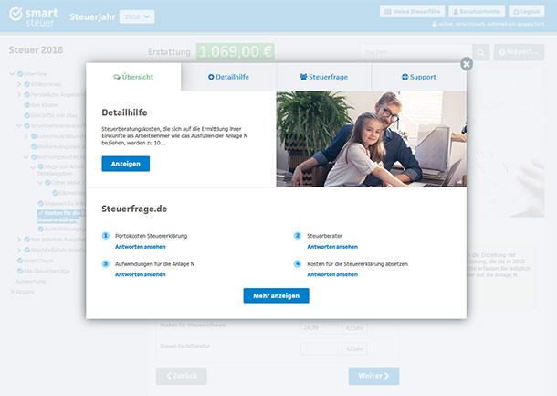 smartCheck von smartsteuer