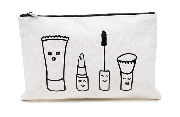 prettique Beauty Bag small Sketch-Print