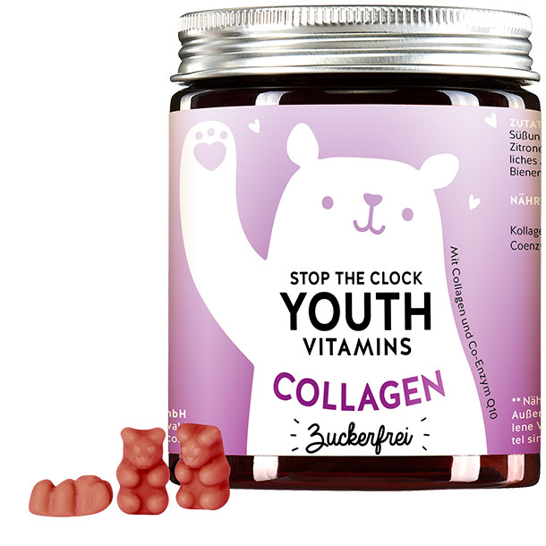 Stop the Clock Youth Vitmins mit Collagen