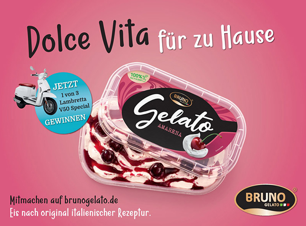 """""""Dolce Vita für zu Hause"""" von Bruno Gelato"""