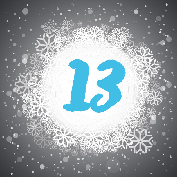 Adventskalendertürchen Nr. 13