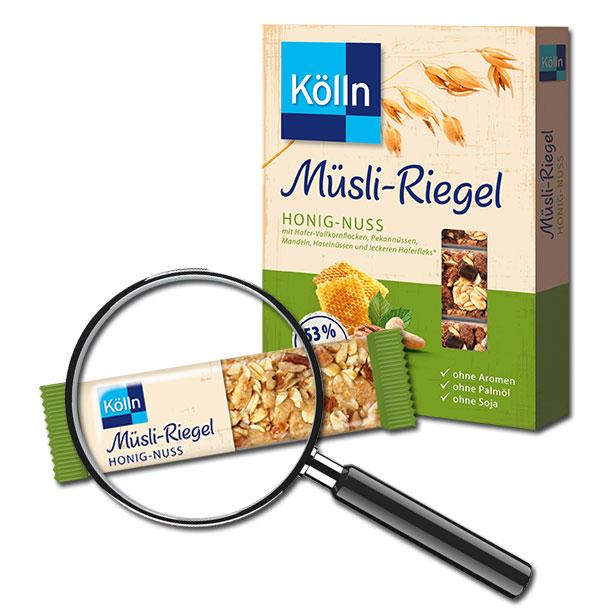 Kölln Müsli-Riegel Honig-Nuss