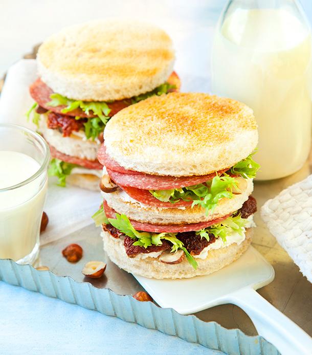 Gutfried Geflügel-Salami Sandwich