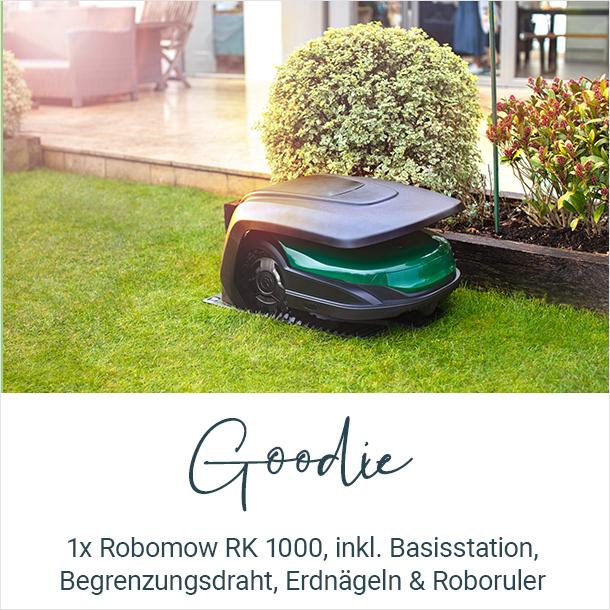 Goodie: 1x Robomow RK 1000