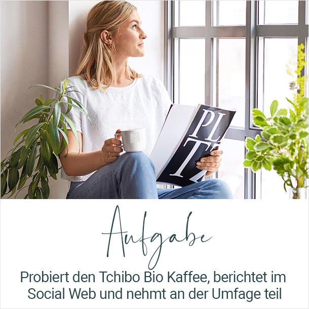 Aufgabe Tchibo Bio Kaffee
